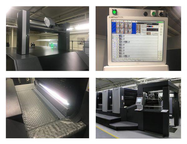 オンライン枚葉印刷検査装置